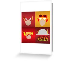 the flashes gen Greeting Card