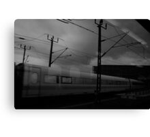 cloudy day at berlin mainstation Canvas Print