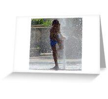 Waterbaby Greeting Card