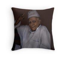 Moroccan portrait Throw Pillow