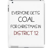 Coal for Christmas iPad Case/Skin