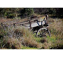 Abandon Wagon Photographic Print