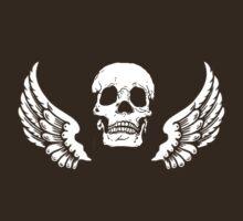 winged skull by ralphyboy
