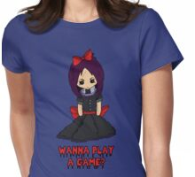 Emo Doll Womens Fitted T-Shirt
