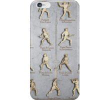 """Fiore dei Liberi """"Getty"""" Armored Positions  iPhone Case/Skin"""