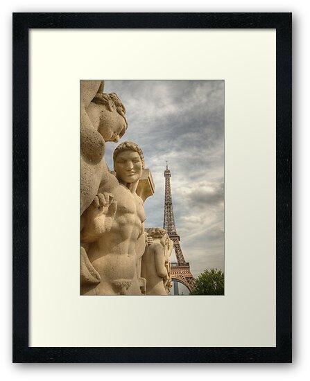 Eiffel Tower Statues by Craig Goldsmith