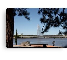 Canberra. Canvas Print