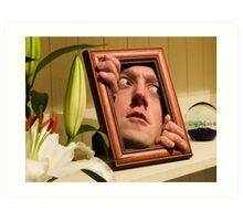 Shelf Portrait Art Print