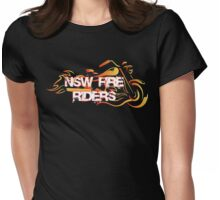 NSW Fire Riders Tees, Tanks, and Sweatshirts Womens Fitted T-Shirt