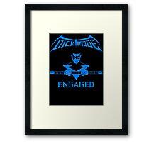 DickMode Framed Print