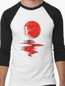 The Land of the Rising Sun Men's Baseball ¾ T-Shirt