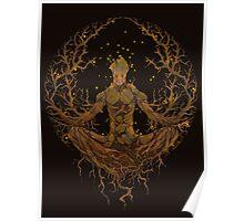 Groot Mandala Poster