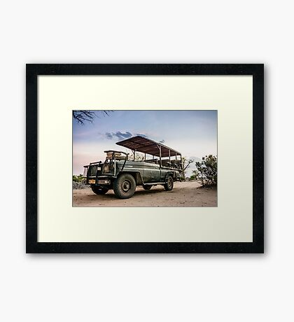 Safari Land Cruiser Framed Print