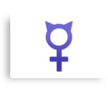 Pro-Feminism Pro-Cats Canvas Print