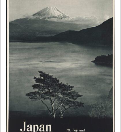 Vintage Japanese Travel Poster (1930s) Sticker