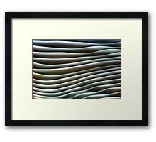 Undulate Framed Print