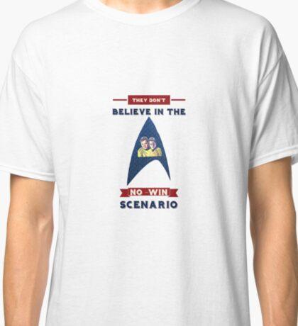Star Trek Doesn't Believe In The No-Win Scenario Classic T-Shirt