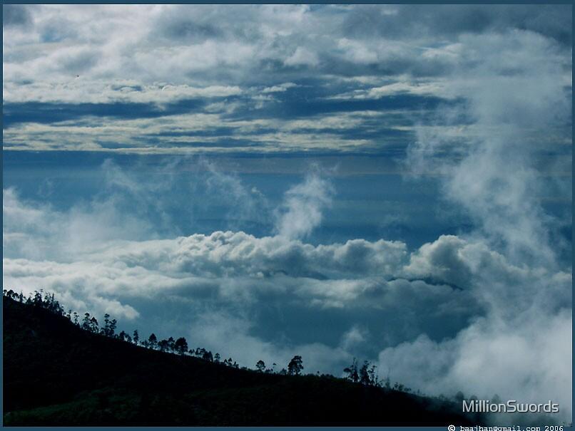 Sleeping Clouds - Kodaikanal, TN, India by MillionSwords