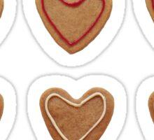 I love Christmas gingerbread Sticker