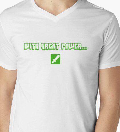 Mod Power Mens V-Neck T-Shirt