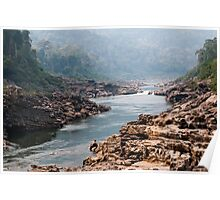 A last glimpse of Nam Kading river Poster