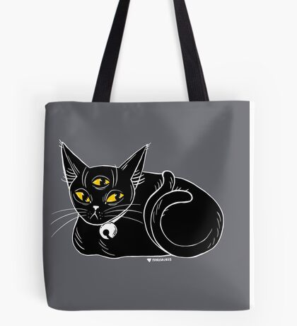 Demon Cat Judges You Tote Bag