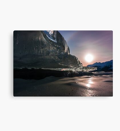 Dark Ice Canvas Print