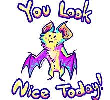 Positive Bat by miaouler