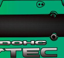 Honda H22 Valve Cover - Greenish Sticker