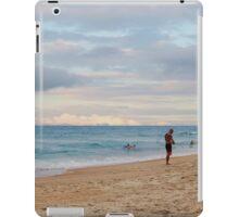 Sunset on the Beach iPad Case/Skin