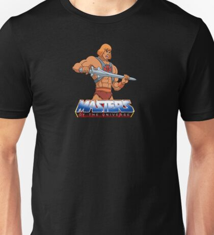 Masters Of The Universe - Logo - Clean Unisex T-Shirt