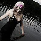 fairy in the sea by grayscaleberlin