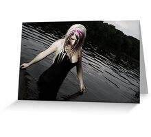 fairy in the sea Greeting Card