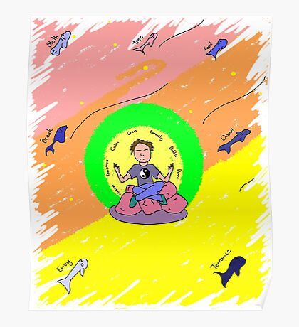 The Meditator - Better Blender Poster