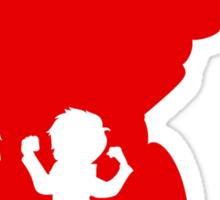 Baymax and Hiro Sticker