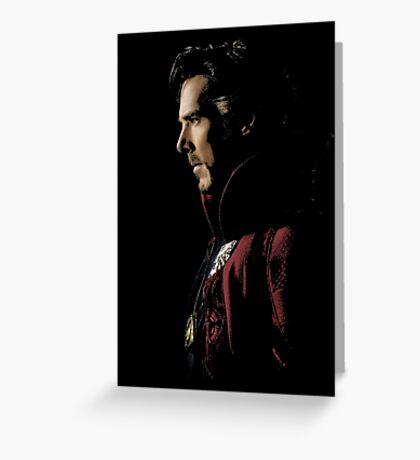 Benedict Cumberbatch as Doctor Strange Greeting Card