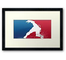 Major League Earthshaker Framed Print