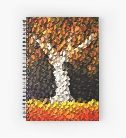 Red Earth Tree Boxed Spiral Notebook