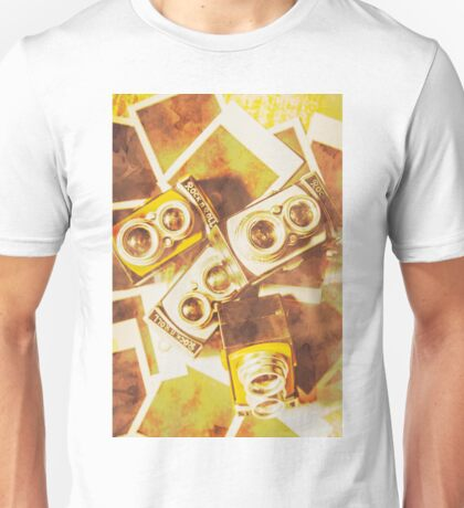 Old photo cameras Unisex T-Shirt