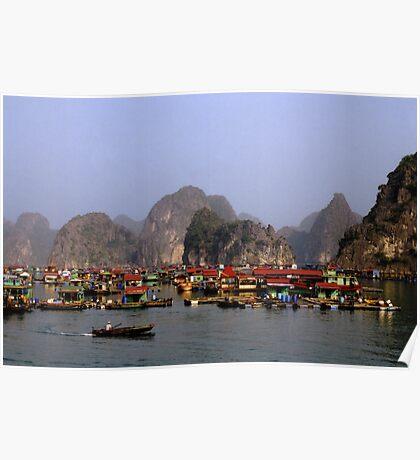 Floating Market, Viêt Nam Poster