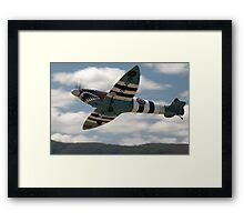 Sharkmouth Spitfire @ Festival Of Flight 2008 Framed Print