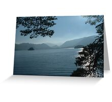 DERWENT WATER TOWARDS BORROWDALE -3 Greeting Card