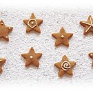 Gingerbread stars by Sally Kate Yeoman