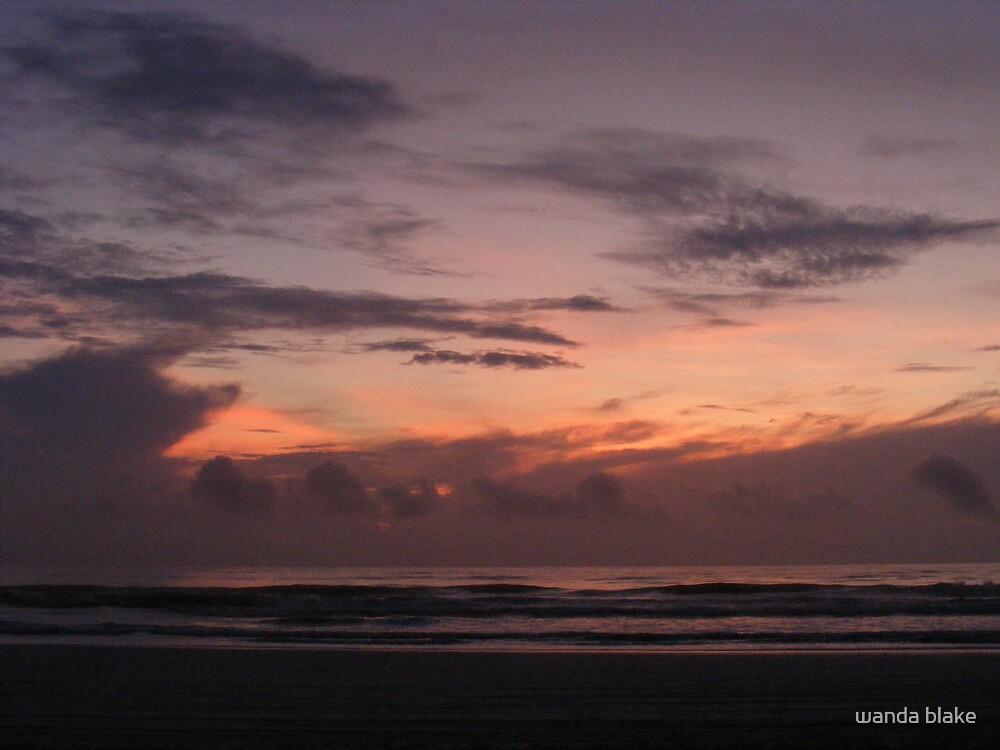sunrise crescent beach by wanda blake