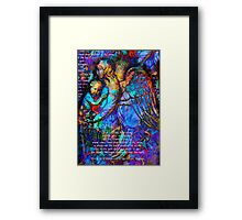 Graffiti Angel 2 Framed Print