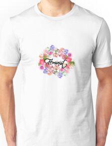 Feminist Flowers Unisex T-Shirt