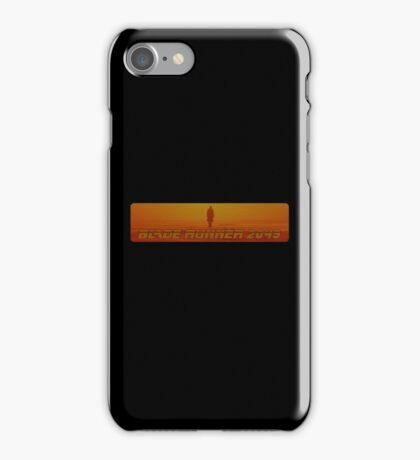 Blade Runner 2049 - Silhouette - Clean iPhone Case/Skin