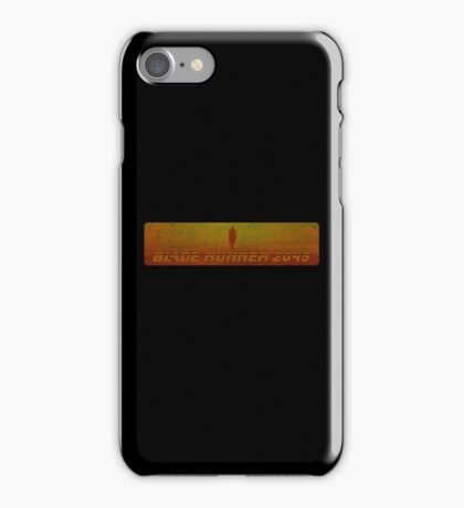 Blade Runner 2049 - Silhouette - Dirty iPhone Case/Skin