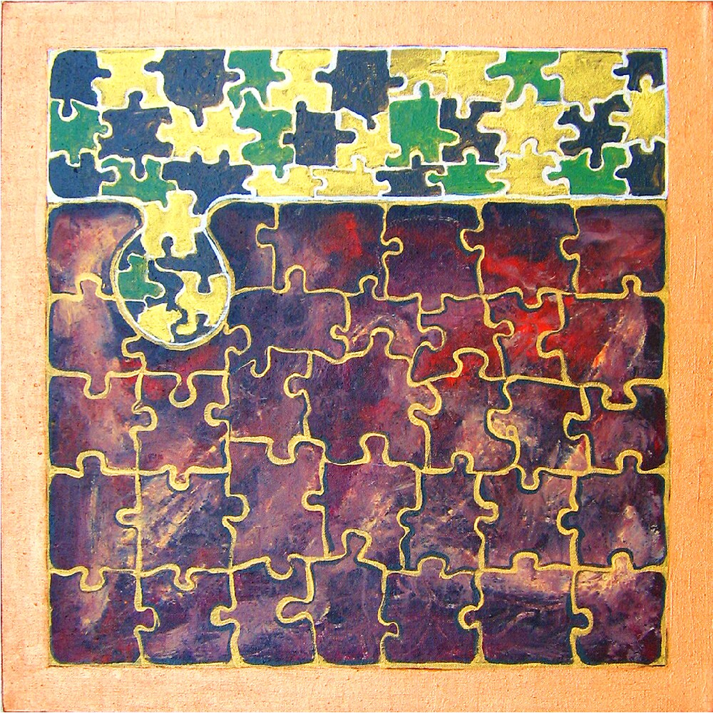PUZZLE PIECE #15 by IRENE NOWICKI