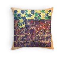 PUZZLE PIECE #15 Throw Pillow